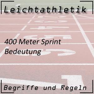 Leichtathletik 400 Meter