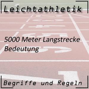 Leichtathletik 5.000 Meter