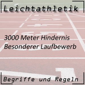 Leichtathletik 3.000 m Hindernislauf