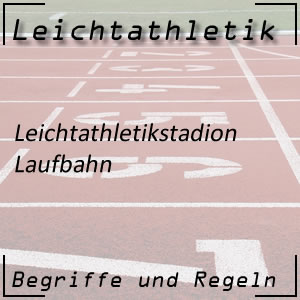 Leichtathletik Laufbahn