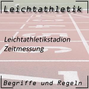 Leichtathletik Zeitmessung