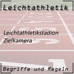 Leichtathletik Stadion Zielkamera