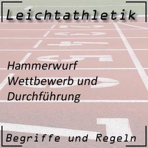 Leichtathletik Hammerwurf Durchführung