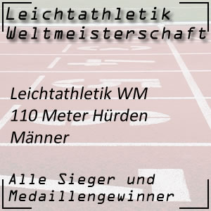 Leichtathletik WM 110 m Hürdenlauf Männer