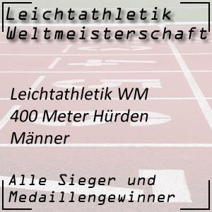 Leichtathletik WM 400 m Hürdenlauf Männer