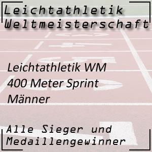 Leichtathletik WM 400 m Männer