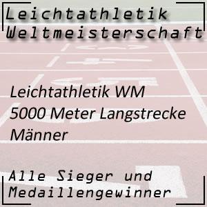 Leichtathletik WM 5000 m Männer