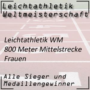 Leichtathletik WM 800 m Frauen