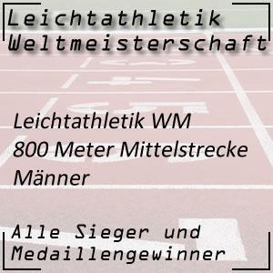 Leichtathletik WM 800 m Männer