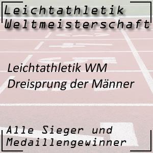 Leichtathletik WM Dreisprung Männer