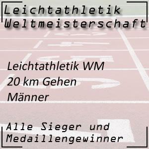 Leichtathletik WM 20 km Gehen Männer