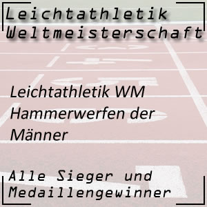Leichtathletik WM Hammerwurf Männer