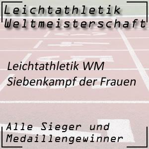 Leichtathletik WM Siebenkampf Frauen