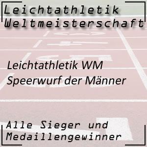 Leichtathletik WM Speerwurf Männer