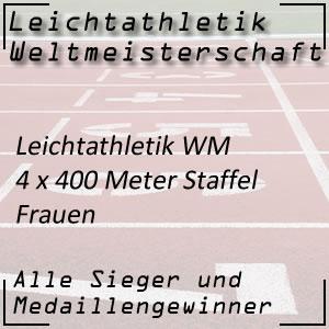 Leichtathletik WM Staffellauf 4 x 400 m Frauen