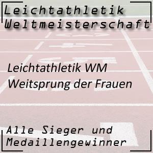 Leichtathletik WM Weitsprung Frauen