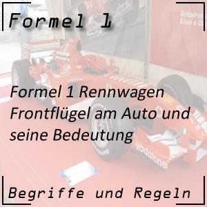 Formel 1 Frontflügel