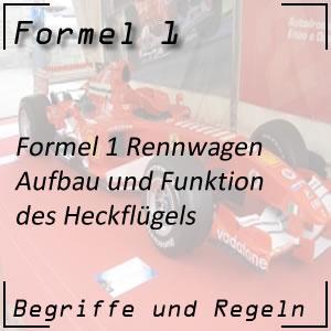 Formel 1 Heckflügel
