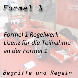 Formel 1 Lizenz