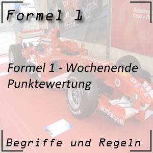 Formel 1 Punktewertung