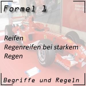 Formel 1 Regenreifen