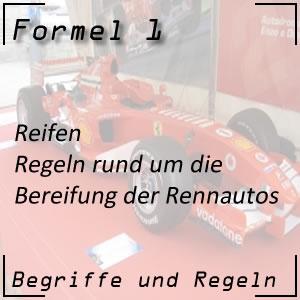 Formel 1 Rennreifen