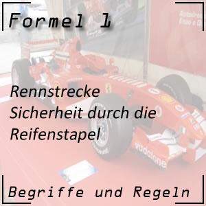 Formel 1 Reifenstapel