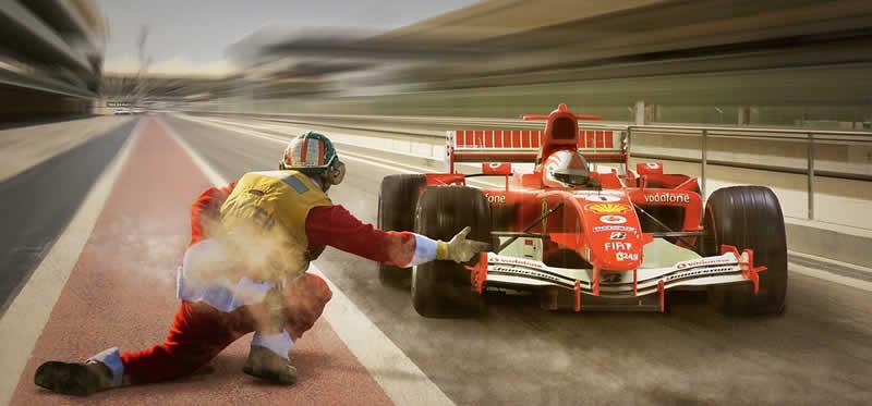 Formel 1 Rennsituation