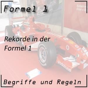 Formel 1 Rekorde