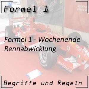 Formel 1 Rennabwicklung