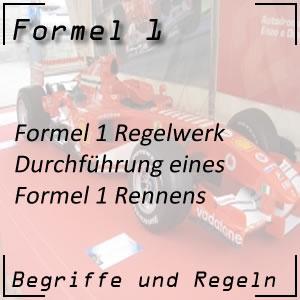 Formel 1 Regelwerk Rennen
