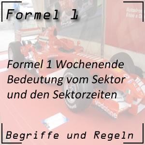 Formel 1 Sektor / Sektorzeiten