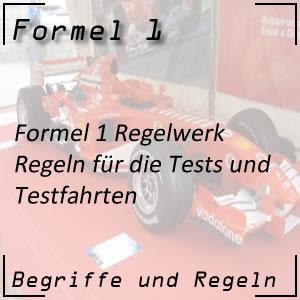 Formel 1 Testfahrten