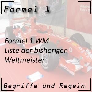 Formel 1 Weltmeister