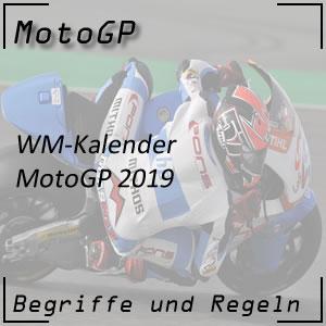 MotoGP WM Kalender