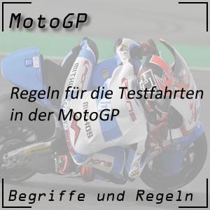 MotoGP Testfahrten