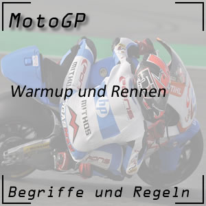 MotoGP Warmup Rennen