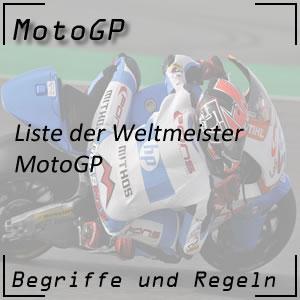 Weltmeister MotoGP