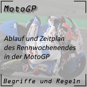 MotoGP Zeitplan