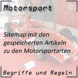 Sitemap Bereich Motorsport