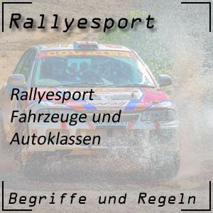 Rallyesport Autoklassen