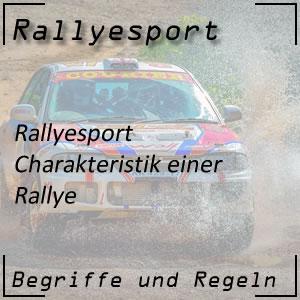 Rallye Charakteristik