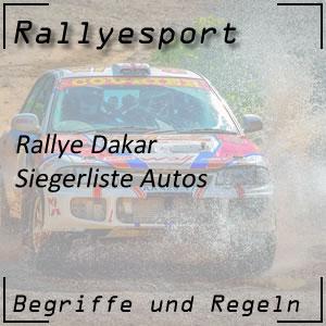 Rallye Dakar Sieger Auto