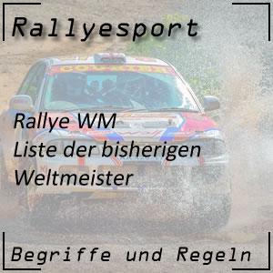 Rallye Weltmeister