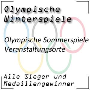 Olympische Sommerspiele Veranstaltungsorte