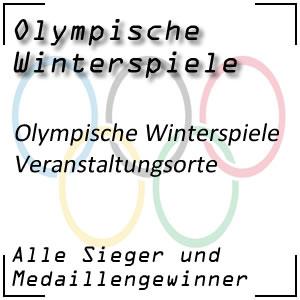 Olympische Winterspiele Veranstaltungsorte