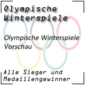 Olympische Winterspiele Vorschau