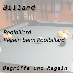 Billard Poolbillard Regeln