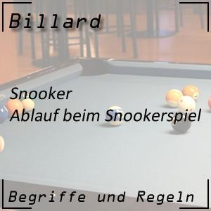Snooker Spielablauf