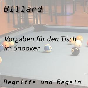 Billard Snooker Snookertisch